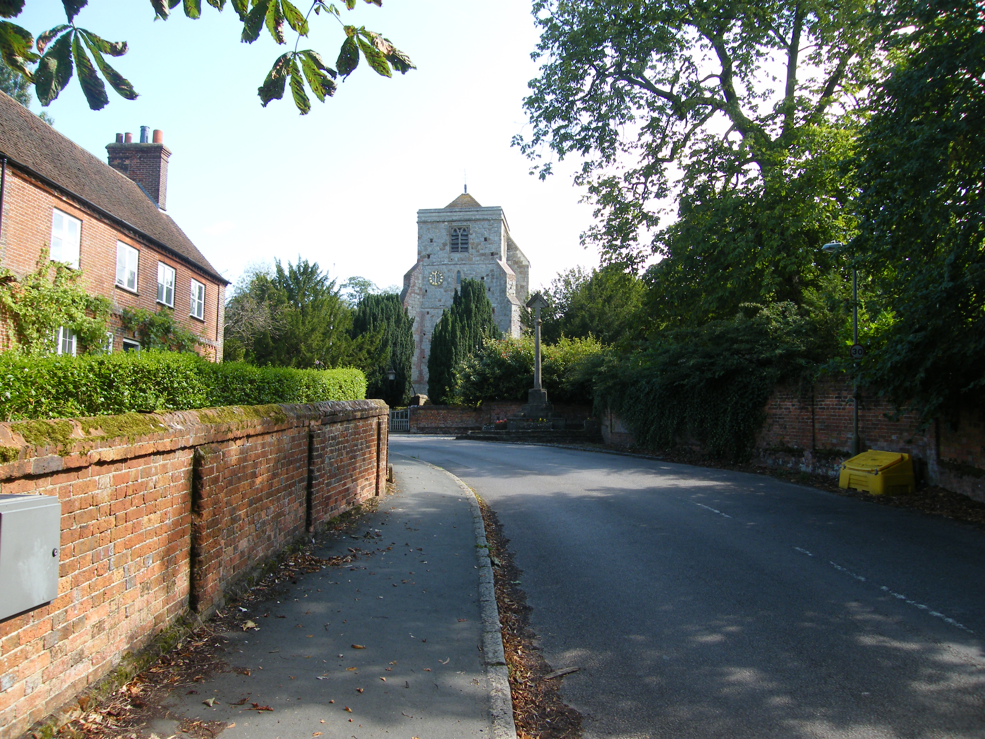 Puttenham Church from The Street