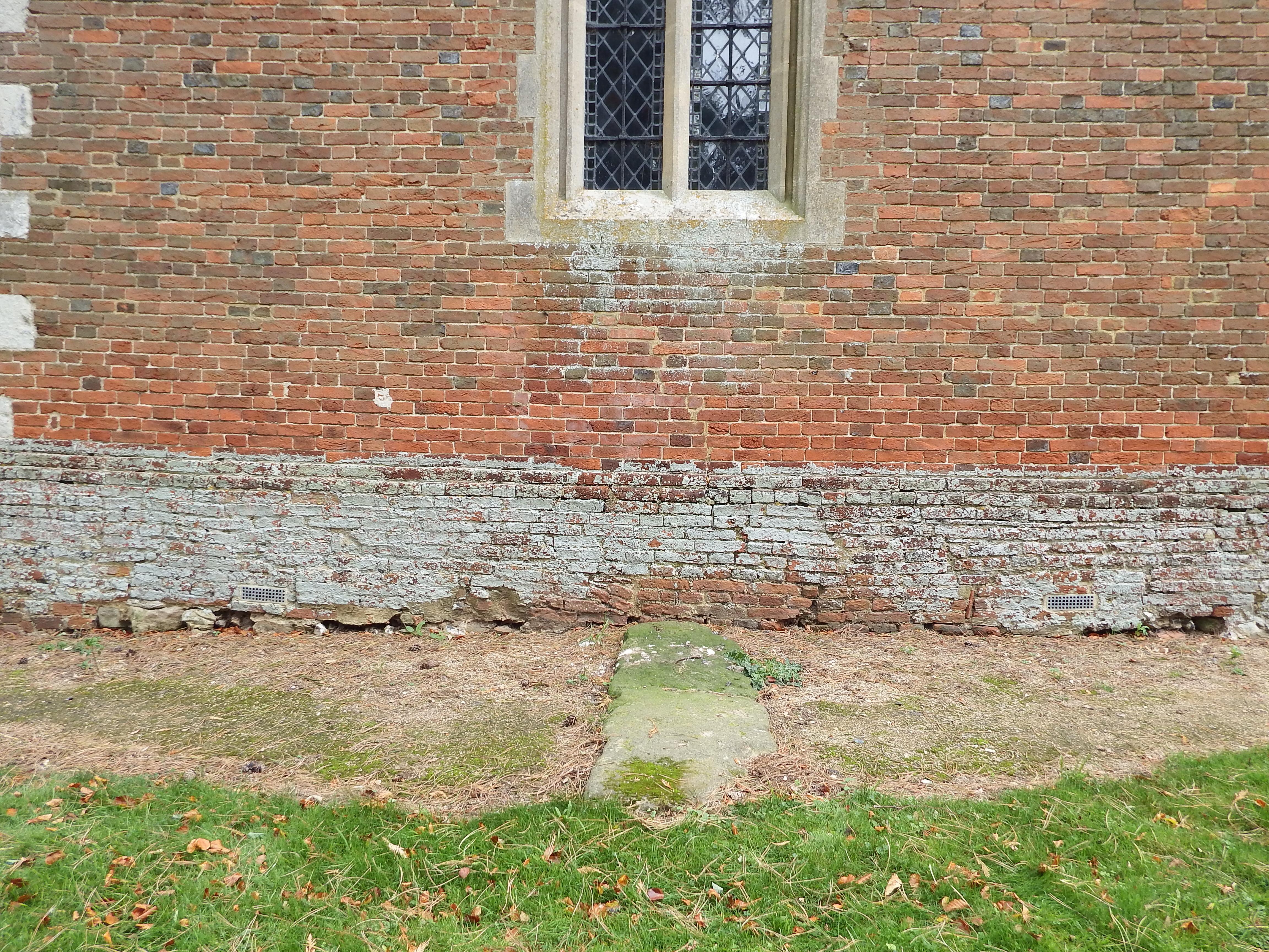 Wanborough recumbent stone viewed from west
