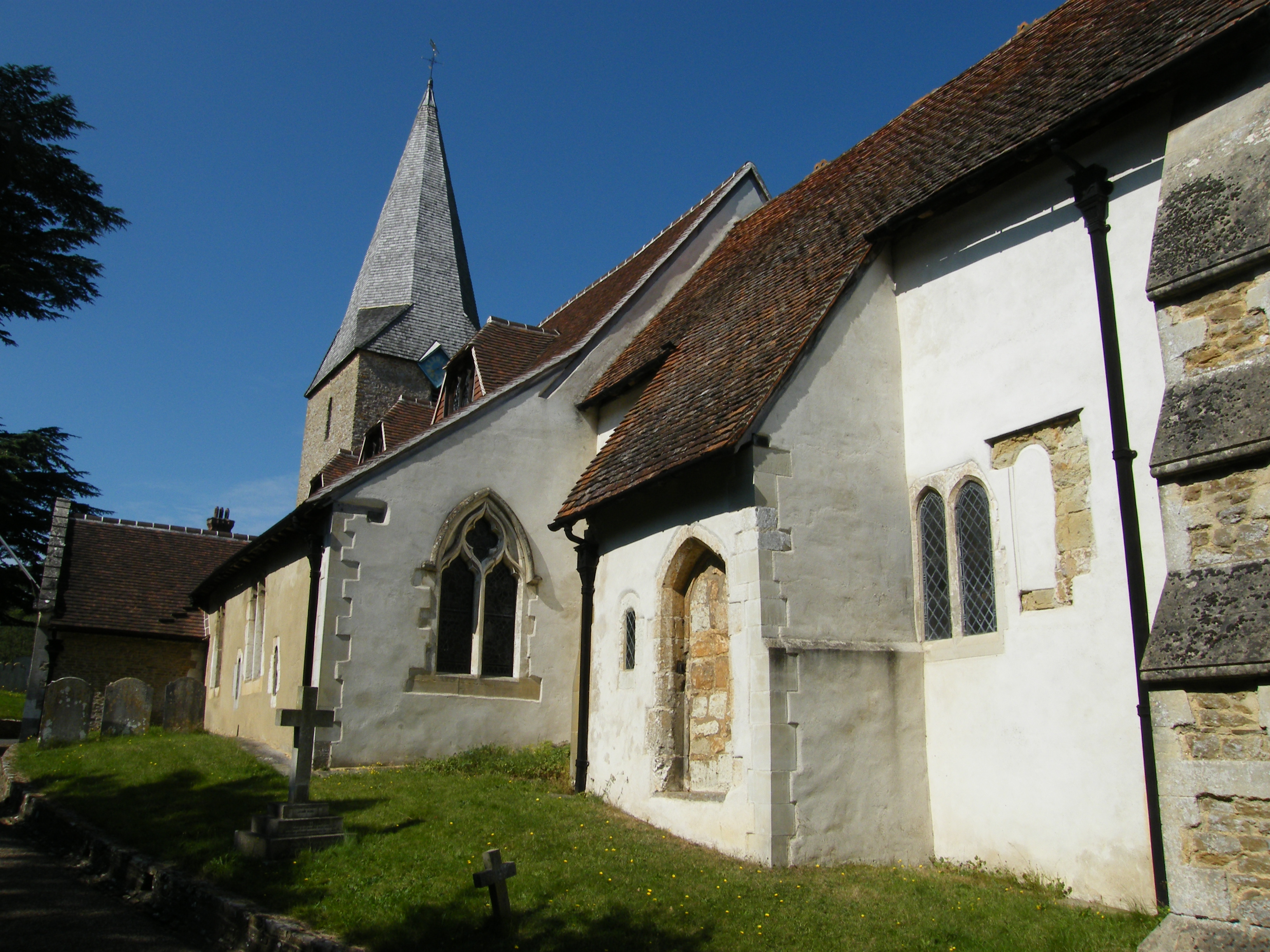 Compton Church from South East