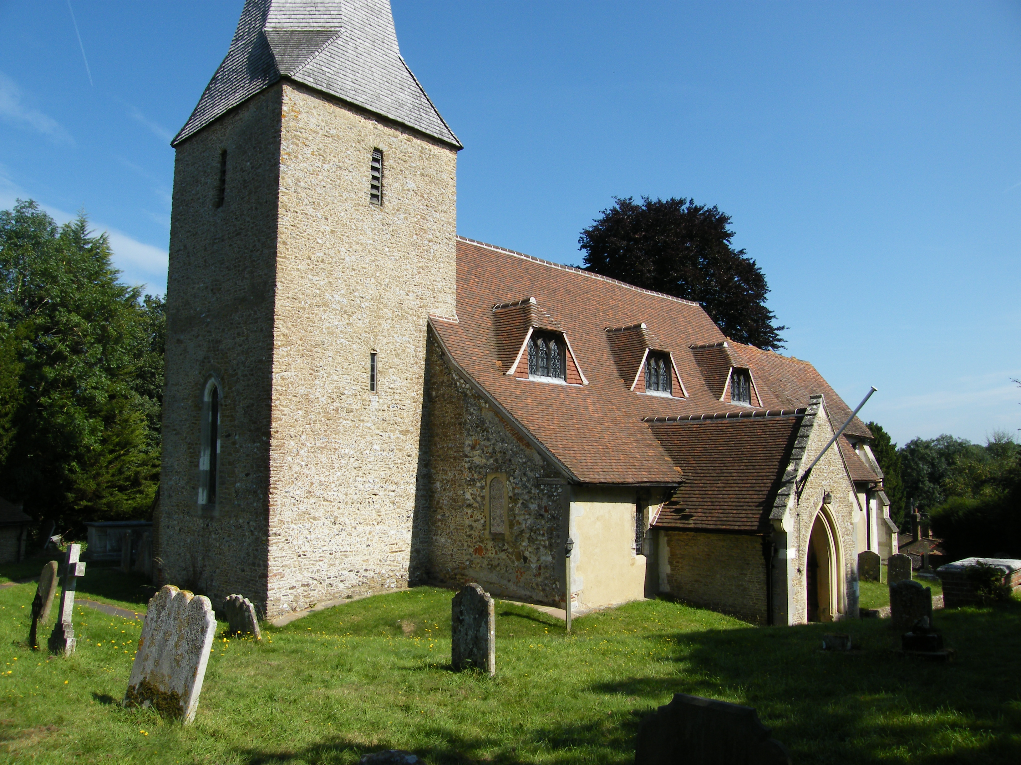 Compton Church from South West