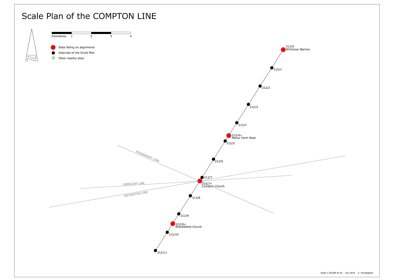 SCALE PLAN COMPTON LINE