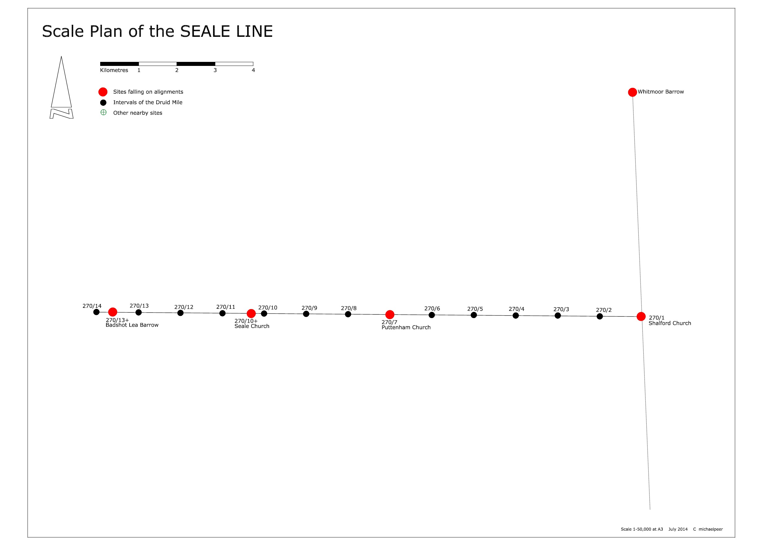 SCALE PLAN SEALE LINE
